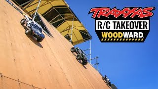 R/C Car Crash Reel at Camp Woodward with Traxxas