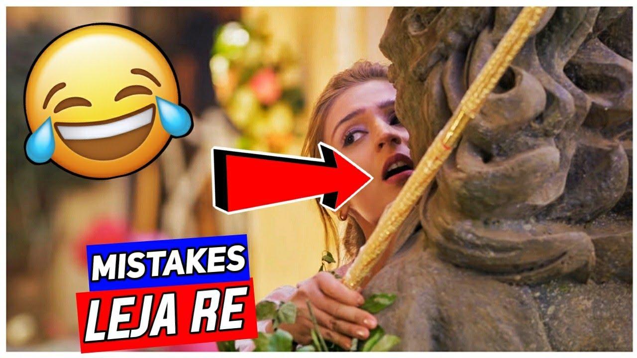 "(7 Mistakes) In Leja Re Song Dhavani Bhanushali | Plenty Mistakes In ""Leja Re"" Song Dhavani B. |"