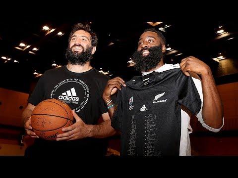 All Blacks Meet the Houston Rockets