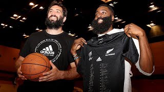 All Blacks meet the Houston Rockets