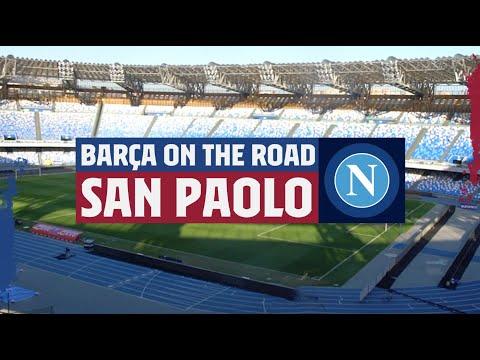 Barça On The Road: SAN PAOLO INSIDE TOUR