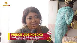 PRINCE JIDE KOSOKO39S BIRTHDAY REPORT