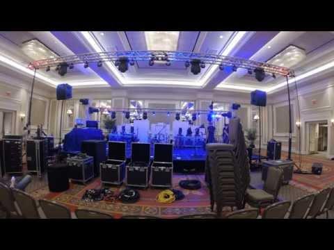 Mega Stage Set Up - Time Lapse