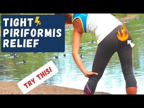 Tight Piriformis Syndrome Pinched Nerve Relief