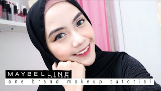 Video Maybelline One Brand Makeup Tutorial (simple and quick) - Shafira Eden download MP3, 3GP, MP4, WEBM, AVI, FLV Juni 2018