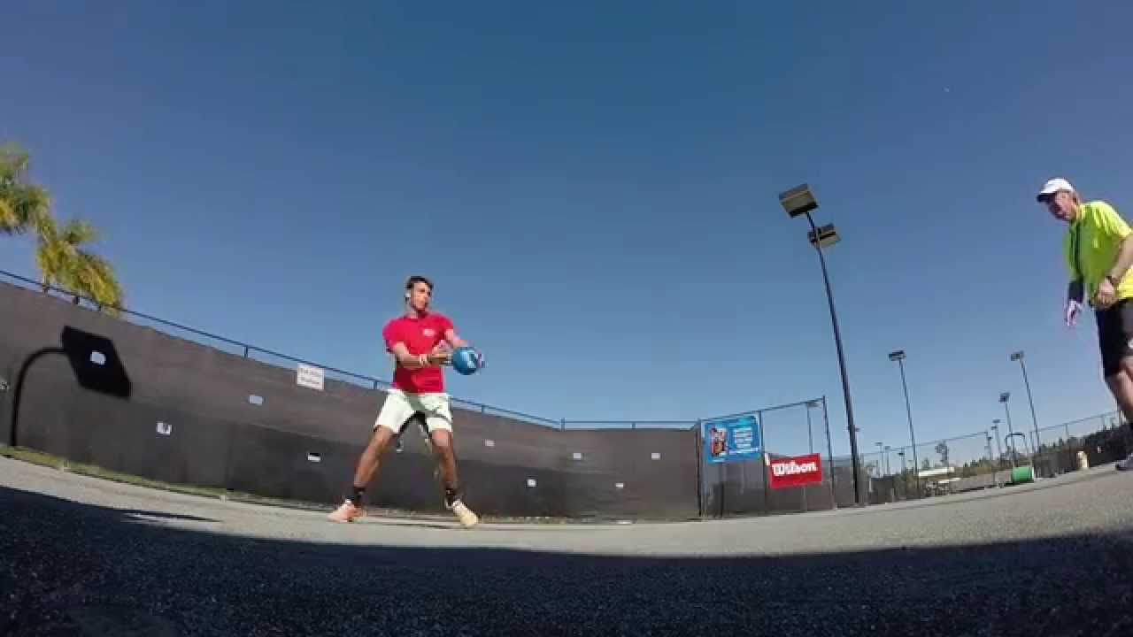 USTA Florida Go Pro Tip: Loading The Outside Leg & Weight ...
