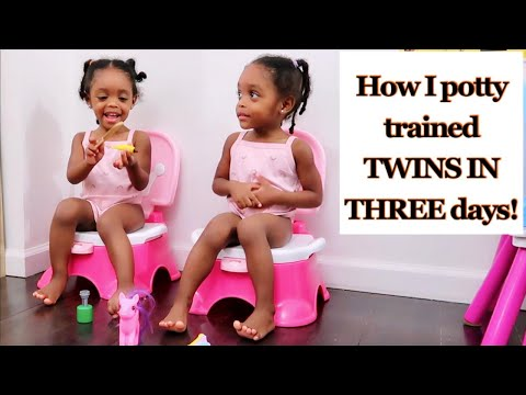 HOW I POTTY TRAINED TWINS IN THREE DAYS!