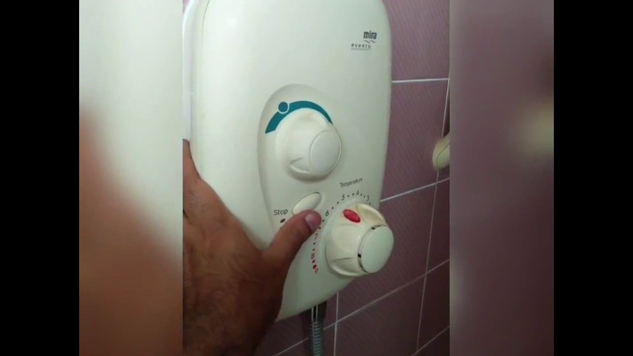 Mira Power Shower Fix Repair, Pump Working Fine No Water