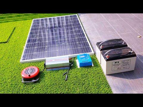 Elektrik tanpa bayar TNB - Asas Sistem Solar