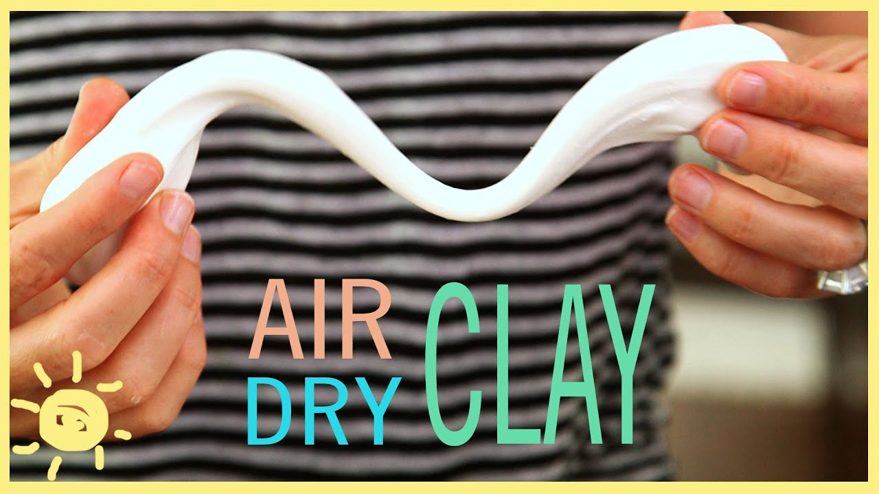 DIY | Air Dry Clay (Easy Recipe