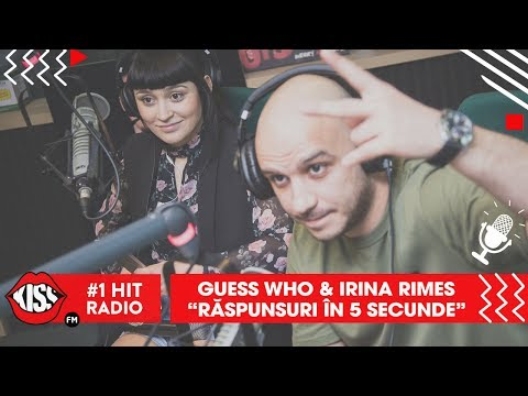 Guess Who & Irina Rimes - Răspunsuri in 5 secunde