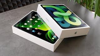 iPad Air 4 Unboxing: Was sind die Unterschiede zum iPad Pro?