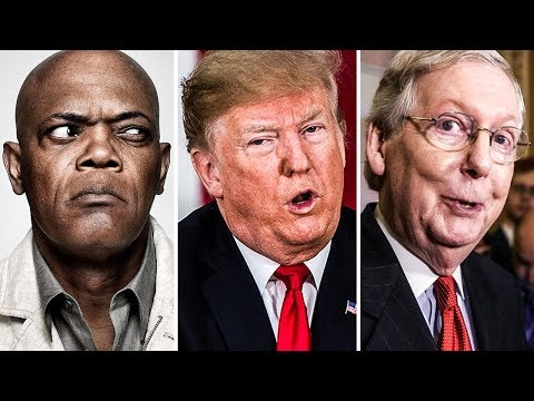 Samuel L. Jackson UNLOADS On Trump And Mitch McConnell