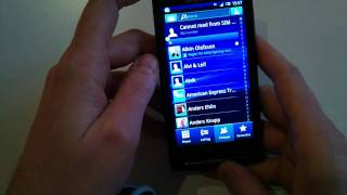 XPERIA X10 Fall 2010 Update - Timescape, Social Phonebook and in-call UI