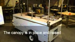 Apollo Carts - Process of Building a Custom Food Cart for Mobile Food Vending