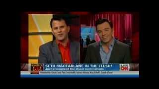 CNN - Seth MacFarlane on his Harvey Weinstein diss - Bradley Jacobs