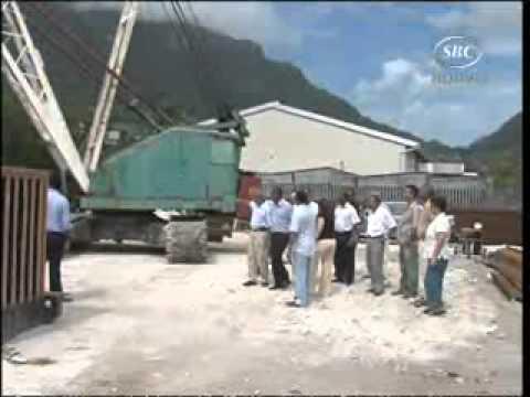 SBC Seychelles:  Renovation Work at the  Fishing Port.wmv   08-10-10