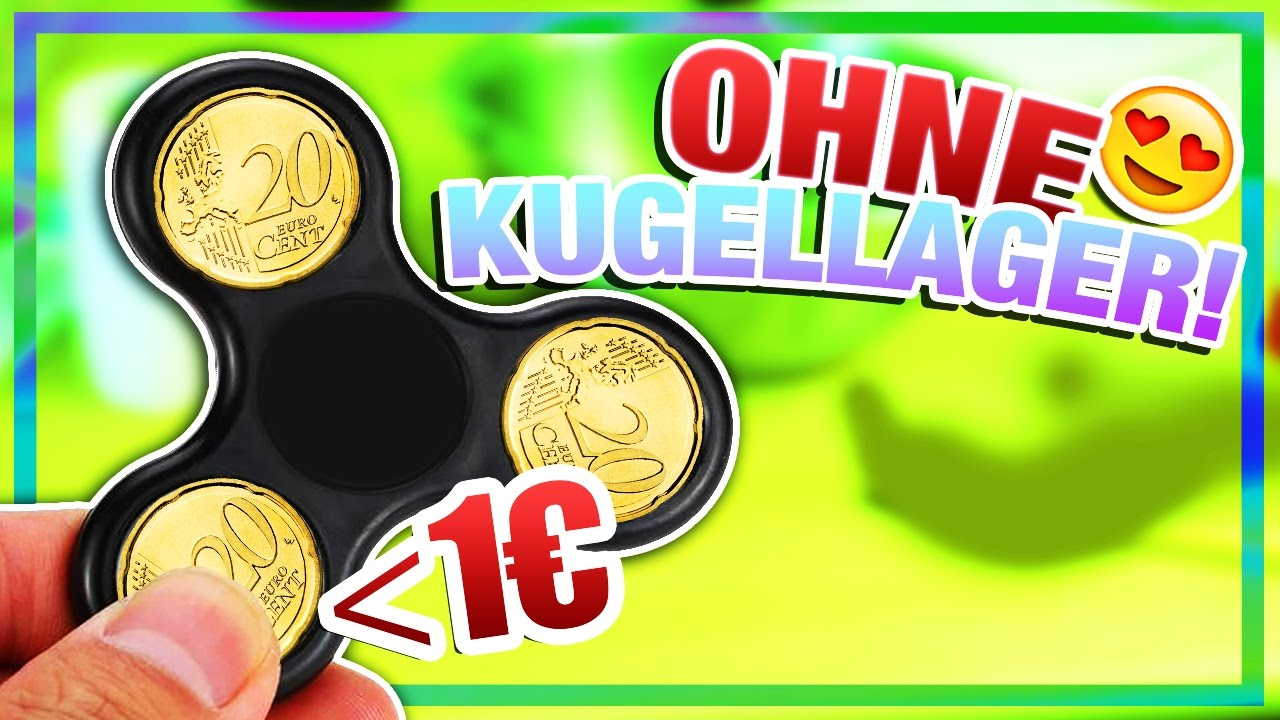 stream diy fidget spinner ganz einfach ohne kugellager. Black Bedroom Furniture Sets. Home Design Ideas