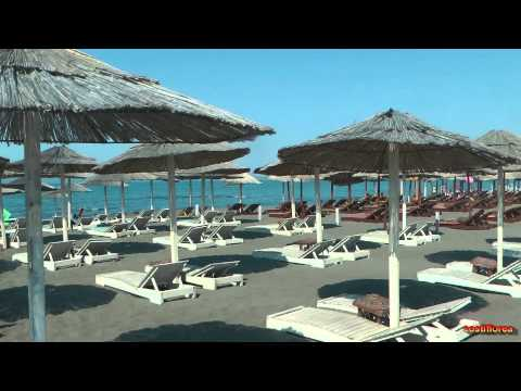 Montenegro, Ulcinj - Copacabana Beach - Travel video HD