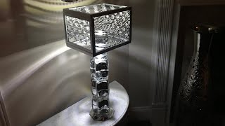 DOLLAR TREE DIY |  GLAM LAMP