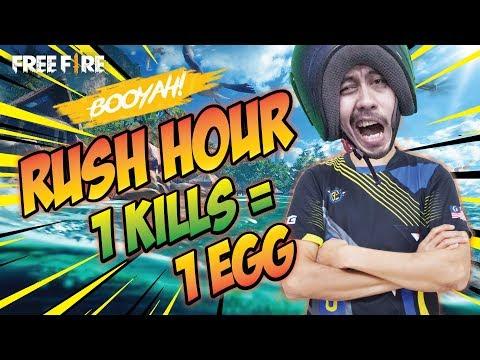 Enak Juga Main Di Mode Rush Hour | Auto Booyah Untuk MrCocan
