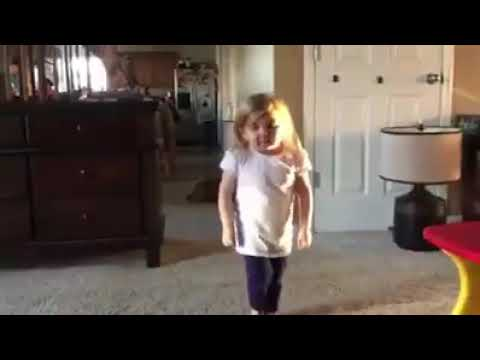 2 years old girl dance in a justin bieber's song baby baby - justin bieber 2018