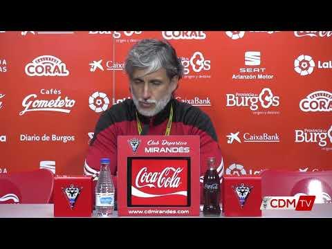 Previa Pablo Alfaro, C.D. Mirandés - Arenas Club de Getxo