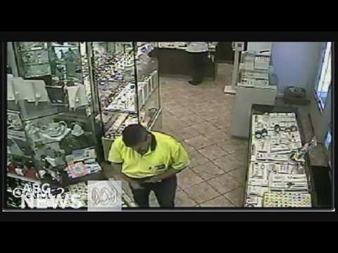 CCTV footage shows brazen $6000 dollar theft from Melbourne jewellery store