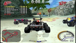 Smash Cars PS2 Gameplay HD (PCSX2)