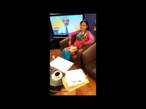 Sister Devi Live on Win 101.1 FM (Trinidad & Tobago)