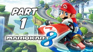 Mario Kart 8 Gameplay Walkthrough Part 1 - Mushroom Cup Grand Prix 150cc (Wii U Gameplay)
