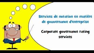 VOCABULAIRE FRANÇAIS ANGLAIS # Thème = Services de comptabilité, services d'audit et services fiscau