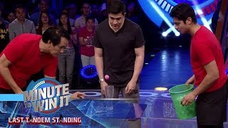 Pong 8 | Minute To Win It - Last Tandem Standing