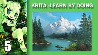 05. Krita. Learn by doing. Стиль Боба Росса