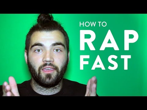 Top 3 Tips on Rapping Fast (Part 1) - Hip Hop Tutorial For Beginners