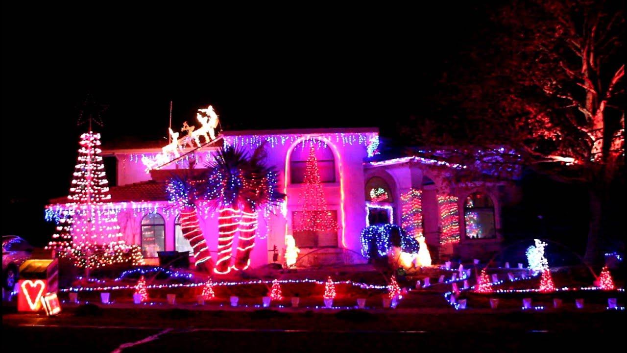 Synchronized Christmas Lights, Albuquerque - YouTube