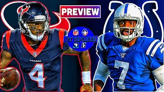 Indianapolis Colts vs Houston Texans Preview & Prediction | NFL Week 7 Predictions