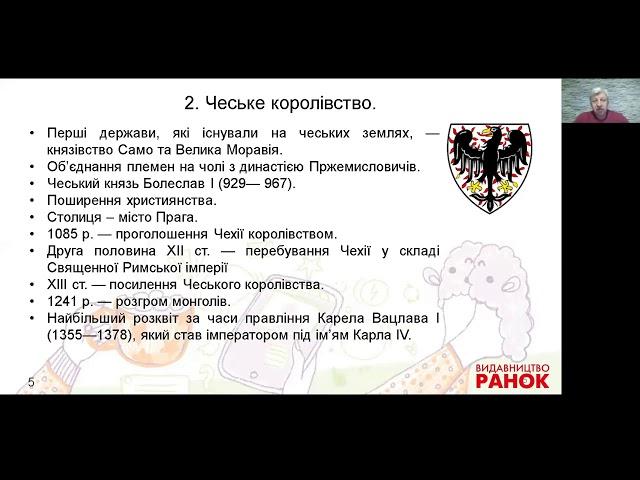 7 клас. Всесвітня історія. Центральна та Східна Європа (частина ІІ)