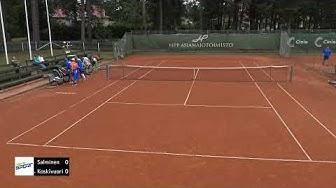 HPP Open Tennisviikko : Ville Salminen - Timo Koskivuori