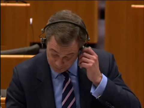 Who are you Mr President? Nigel Farage asks Van Rompuy