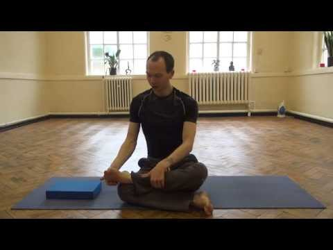 square pose yin yoga hip opening posture  youtube