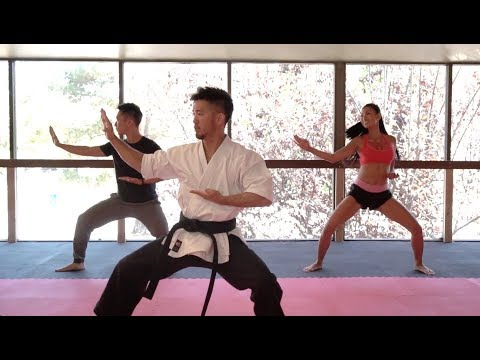 Martial Arts and a Meal Ep2: Karate with Steve Terada and cohost Ivy Teves