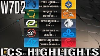 LCS Highlights ALL GAMES Week 7 Day 2 Spring 2019 League of Legends NALCS