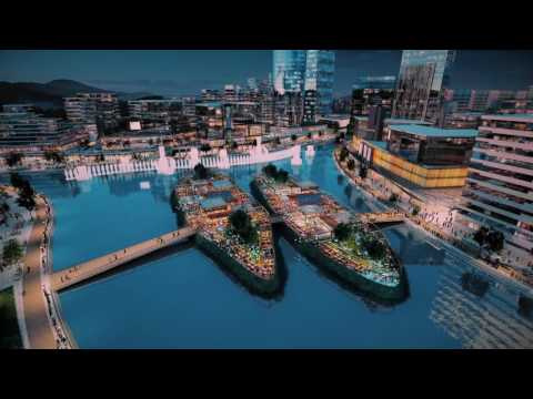 SmartCity Korea Master Plan 3D Animation