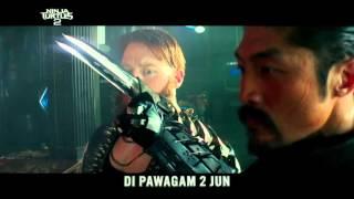teenage mutant ninja turtles 2 l 30 big game spot l di pawagam 2 jun