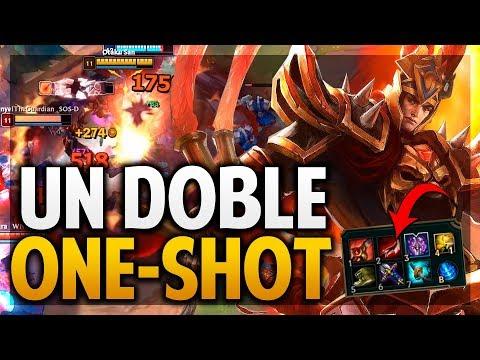 ¡ME FLAMEAN POR HACERLES DOBLE ONE SHOT! | JARVAN JUNGLA | League of Legends thumbnail