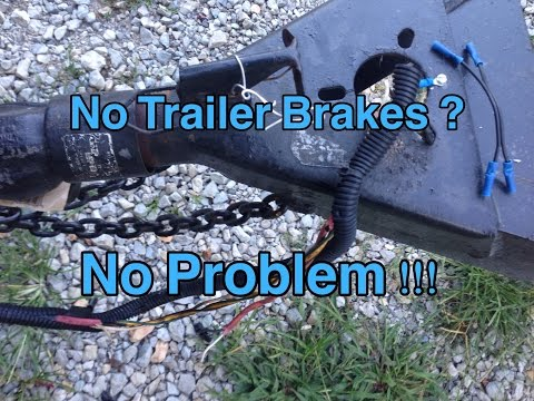 Trailer Brakes 101 And How To Diagnose Wiring Problems Yourself !!!