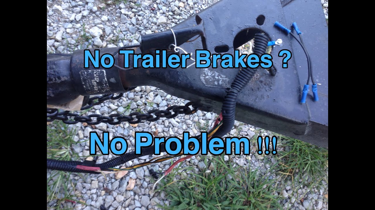 Trailer Brakes 101 And How To Diagnose Wiring Problems Yourself Diagram For Tandem Axle Youtube