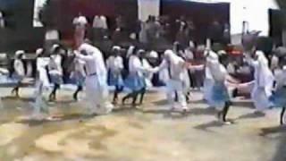 CAMADA ARTESANAL JUVENIL en el Carnaval de San Rafael Tepatlaxco Tlaxcala Mexico 1992 part 2