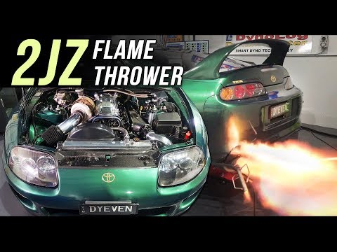 Toyota Supra power up | DYEVEN